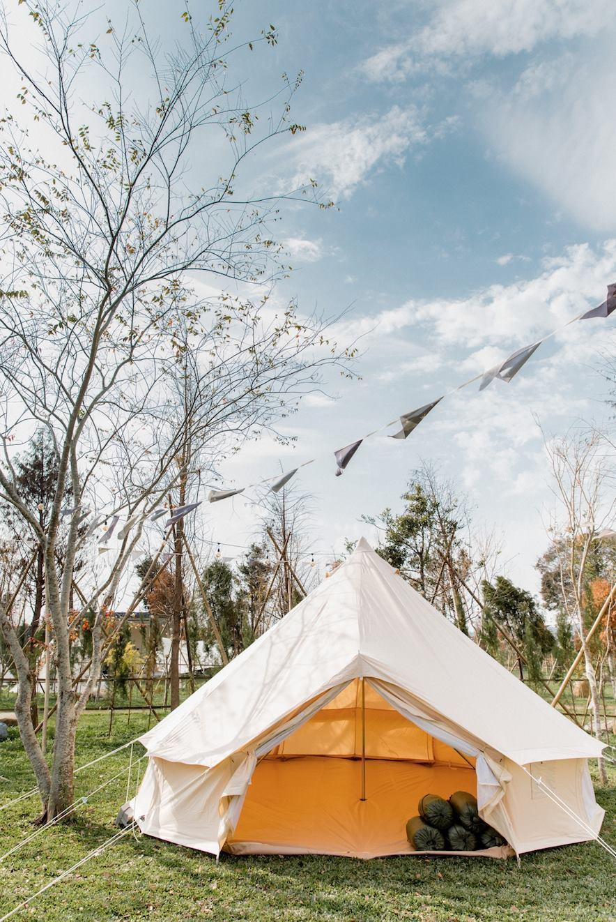 自然圈農場以包廂式露營空間為主,園區內每一個區域都有專屬的獨立衛浴設備。圖/摘自...