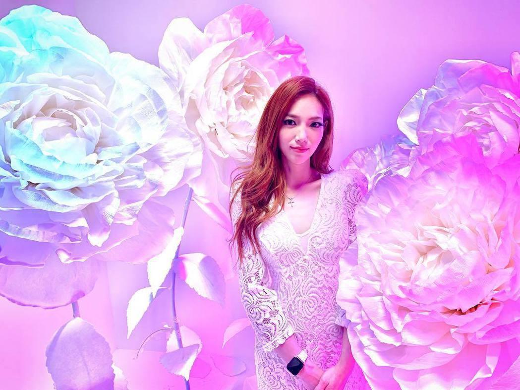 胡安安淡出演藝圈多時,目前經營彩妝事業。圖/摘自IG