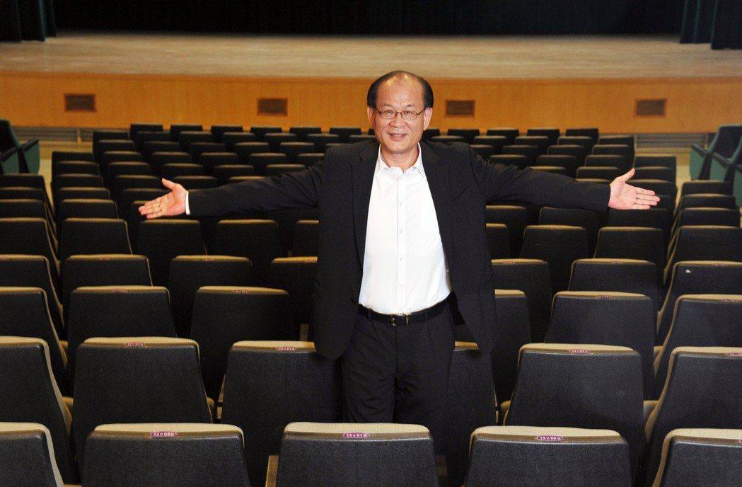 清華大學校友總會理事長蔡進步捐款整建君山音樂廳,音樂殿堂廳牆與座椅將鑲刻他的名字...