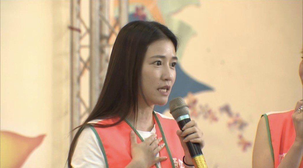 郭亞棠出席保肝活動,呼籲大家重視顧肝重要。圖/民視提供