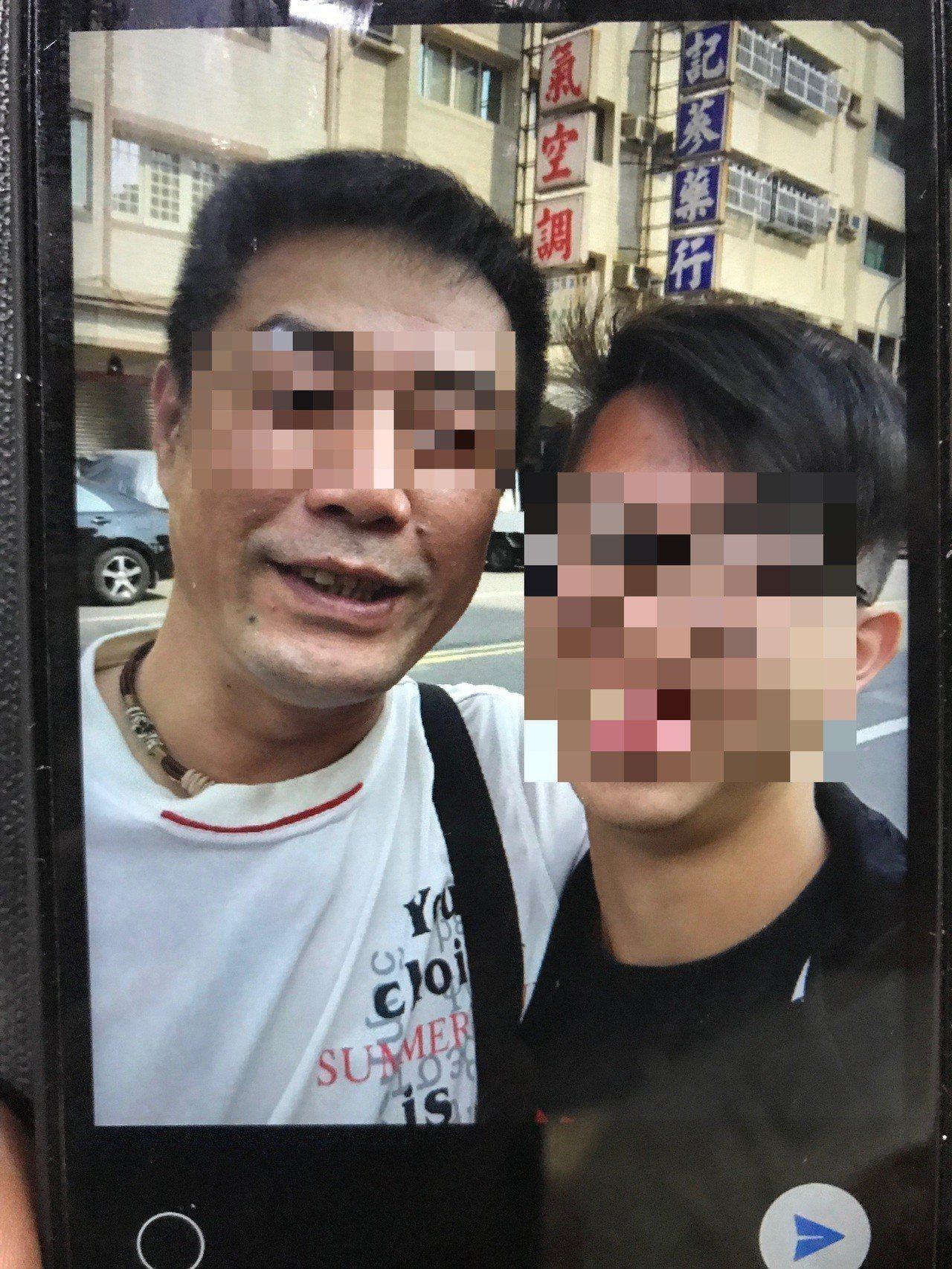 欒姓高三生(右)不幸遭林姓男子酒駕撞死。記者林伯驊/翻攝