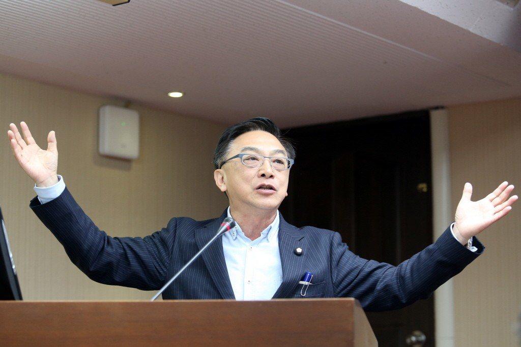 國民黨立委陳宜民。 聯合報系資料照片/記者許正宏攝影