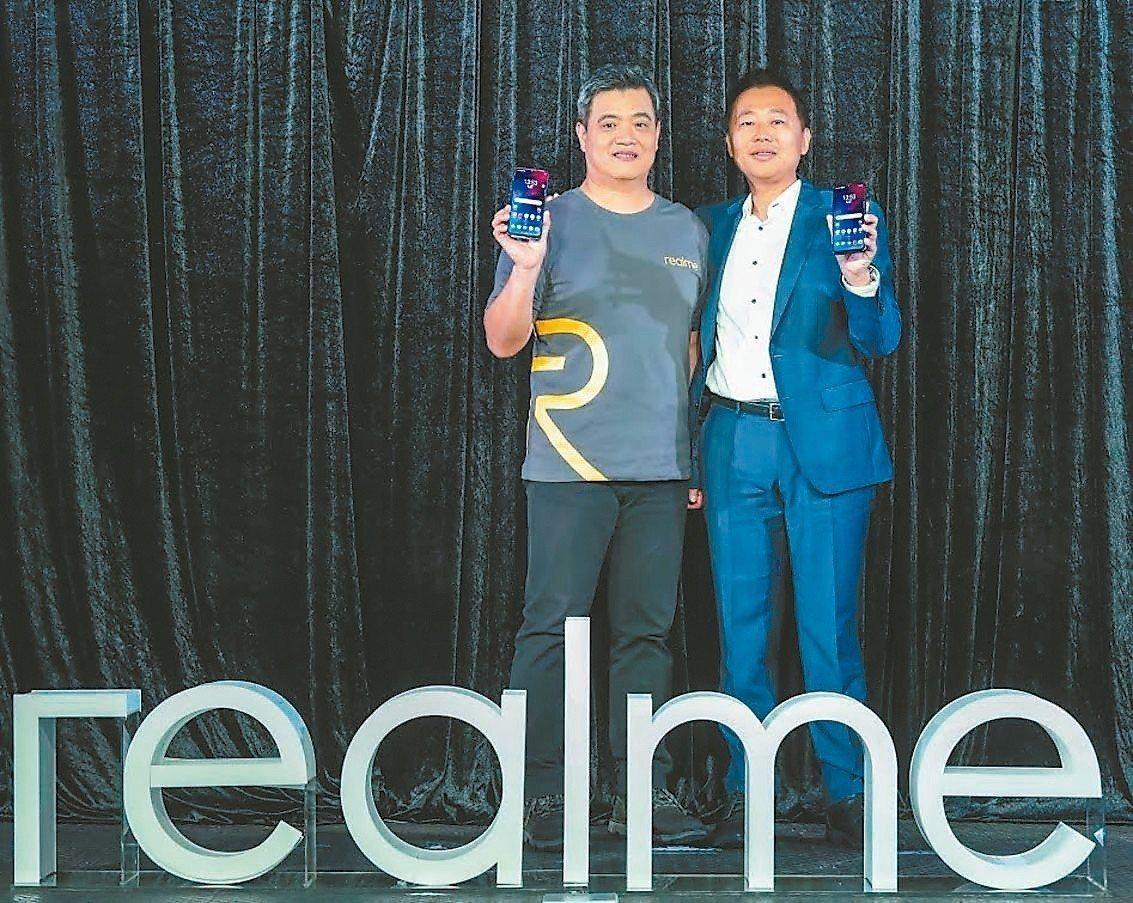 Realme昨天推出搭載聯發科P60處理器的Realme 3新機。聯發科無線通訊...