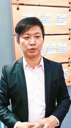 廣州台灣青年之家會長鄭明嘉是道地的台南人,2008年赴廣州創業。 記者李仲維/攝...