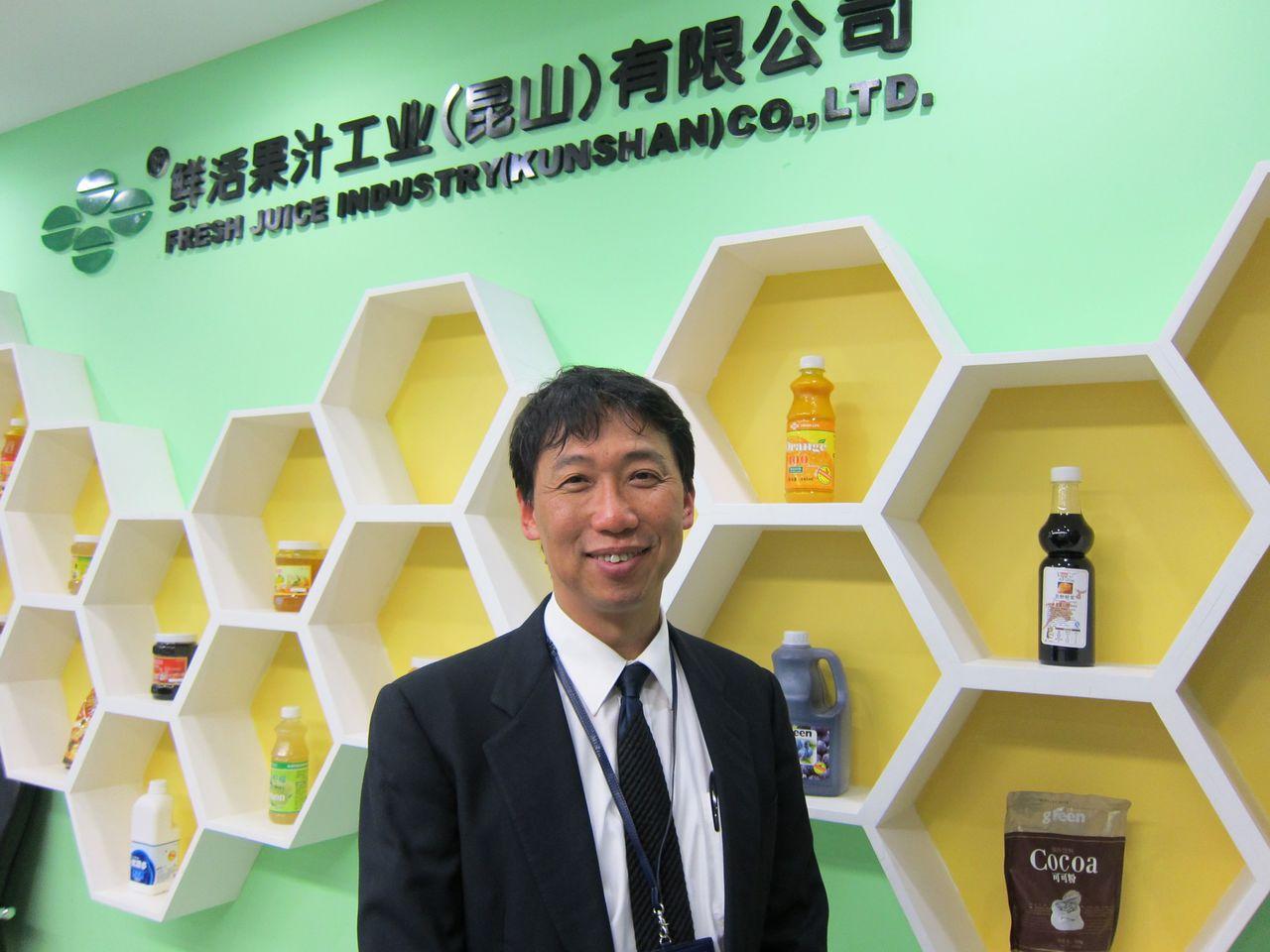 鮮活果汁董事長黃國晃。圖/聯合報系資料照片