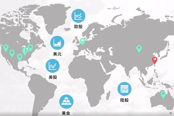 全球經濟牽動投資。 圖/Hahow好學校 提供