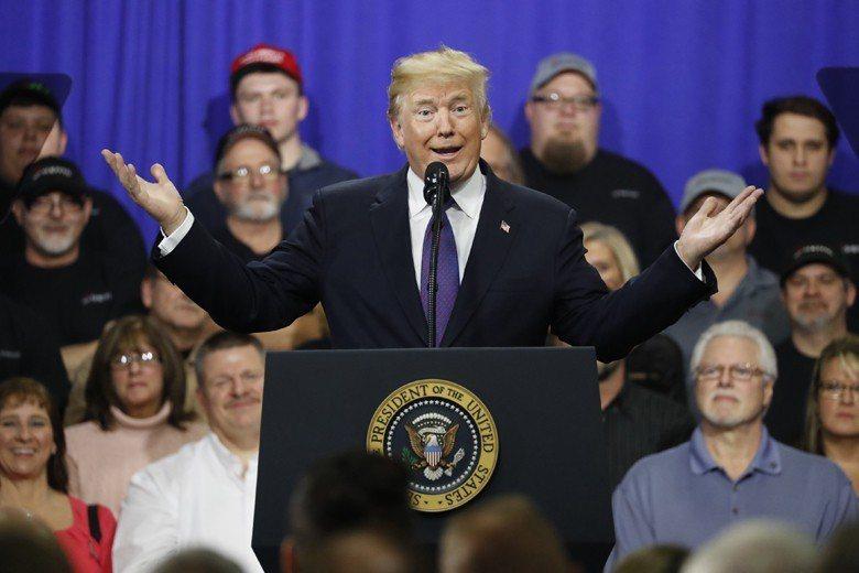 川普順利當選美國總統,被專家視為西方保守觀念反撲的指標之一。 圖/路透社