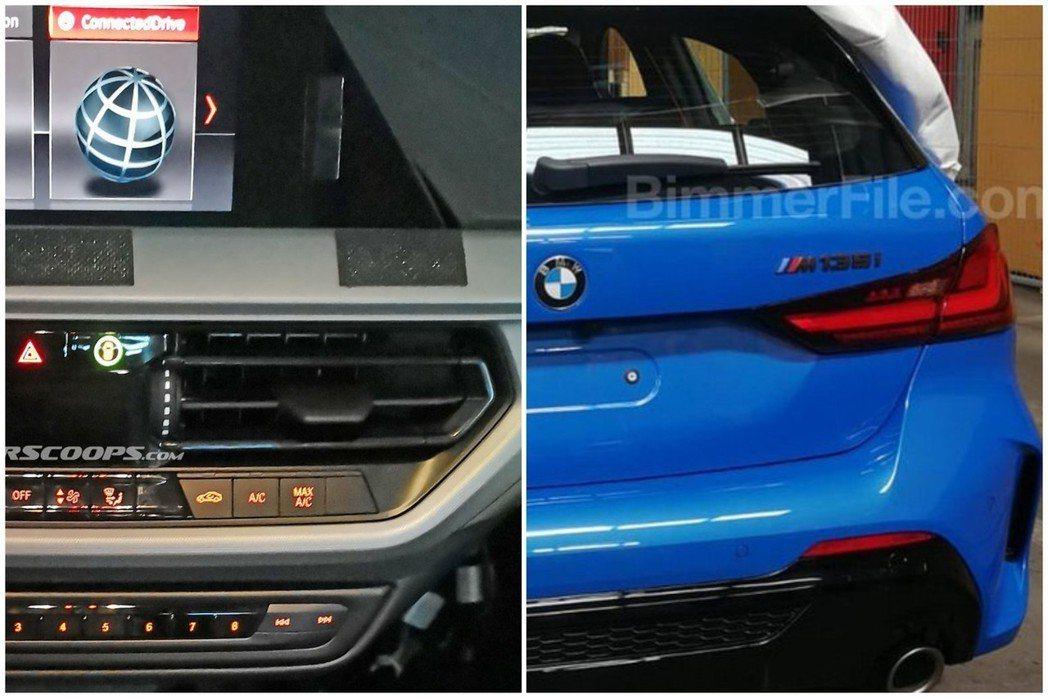 新世代BMW 1 Series在近期都被捕獲到無偽裝外觀、內裝照。 摘自Cars...