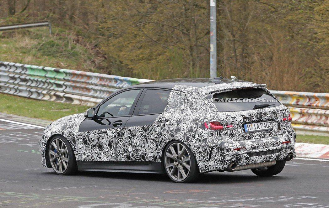 新世代BMW 1 Series有望在九月舉行的法蘭克福車展上正式發表。 摘自Ca...