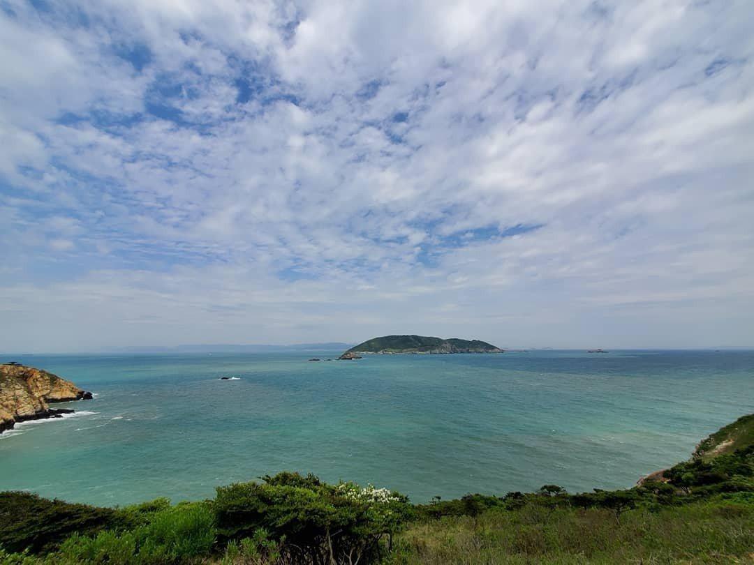圖/大坵島的療癒海景,讓人放鬆心情。網友darren_wangzx授權
