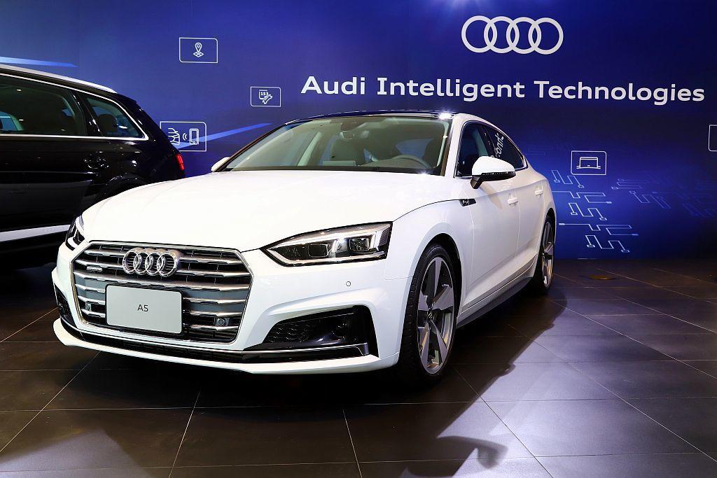 Audi A5 Sportback。 記者張振群/攝影