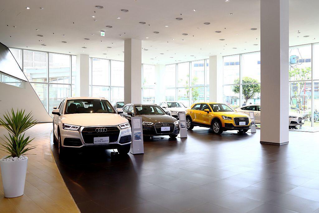 全新Audi新莊旗艦中心,未來將會是Audi旗下新北市最大的服務據點,提供包含新...