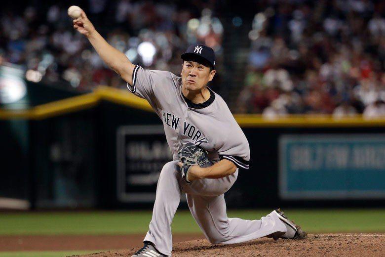 田中將大本季年薪2200萬美元,在洋基先發投手中排名第一,但目前戰績只有2勝3敗...