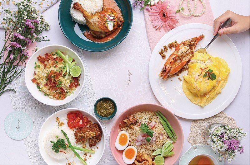 提供59道特色料理,結合世界各地菜式特色與泰國料理手法,呈現創意餐點,掀起一波新...