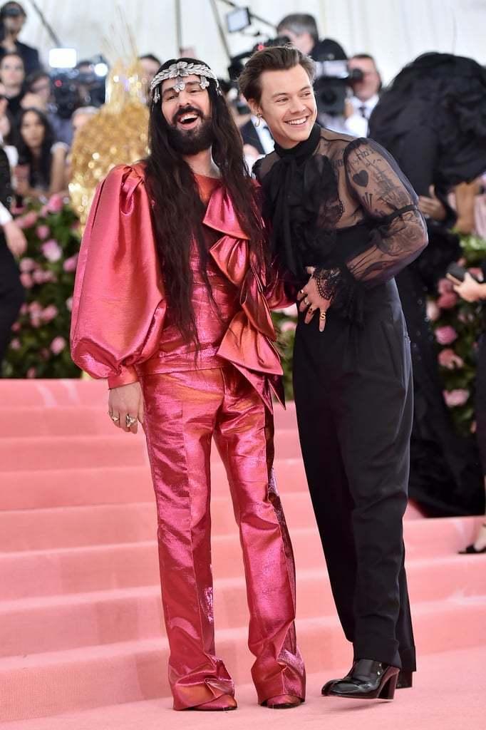 Gucci是今年活動的主要贊助品牌,創意總監Alessandro Michele...