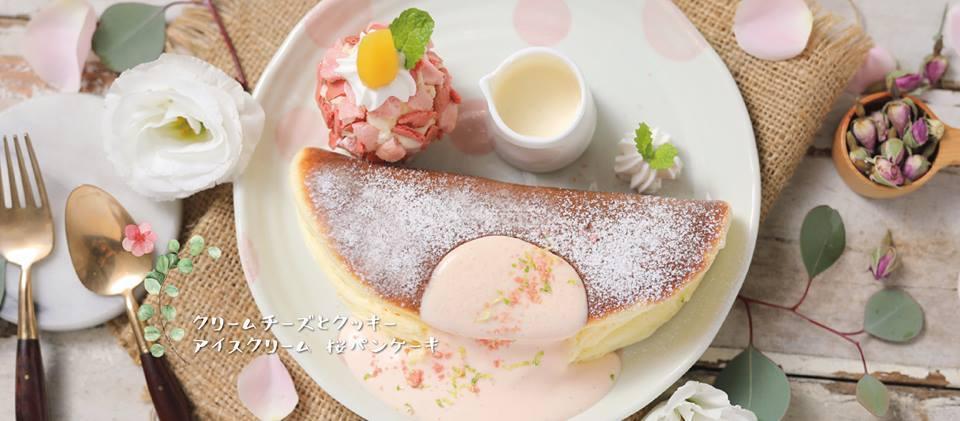 woosaパンケーキ屋莎鬆餅屋。圖/摘自woosaパンケーキ屋莎鬆餅屋臉書。