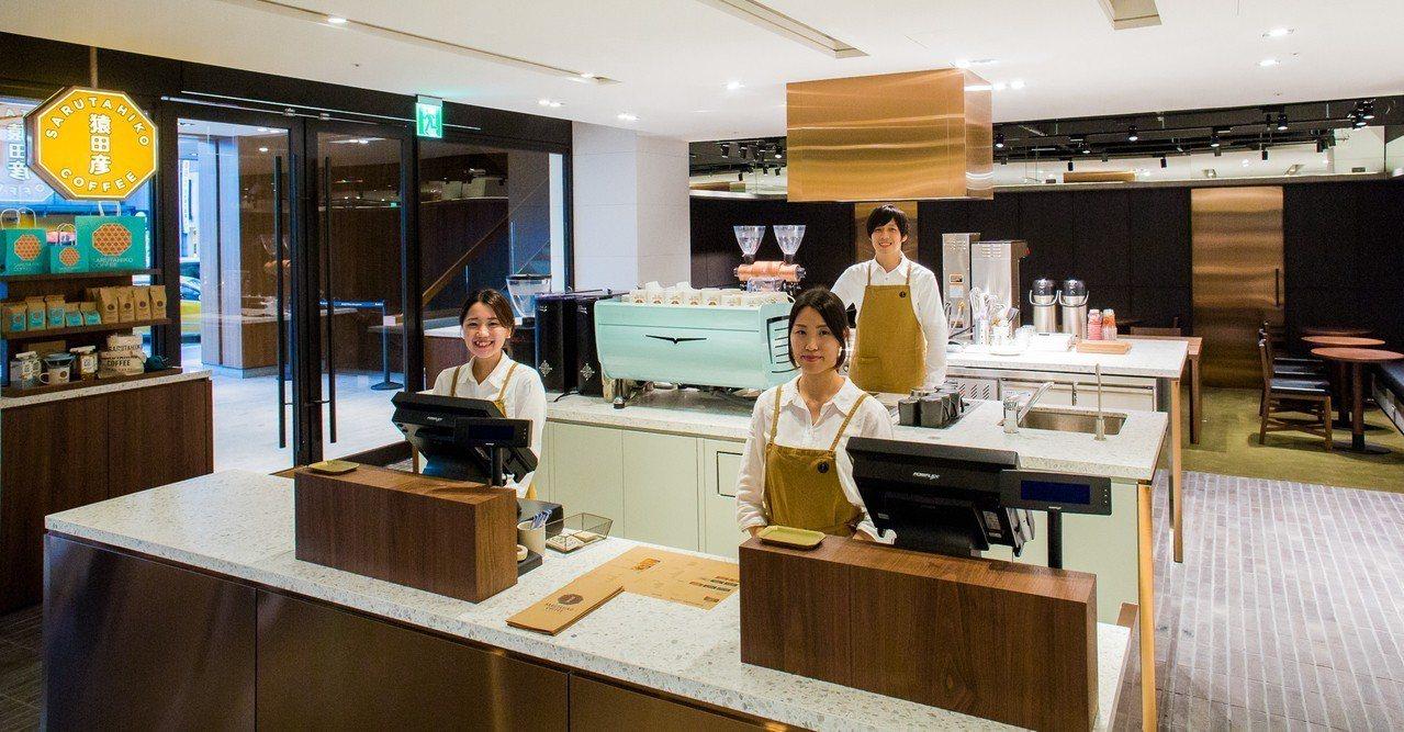 猿田彥推出的早午餐與咖啡組合,僅先在誠品生活南西店提供。圖/誠品生活提供