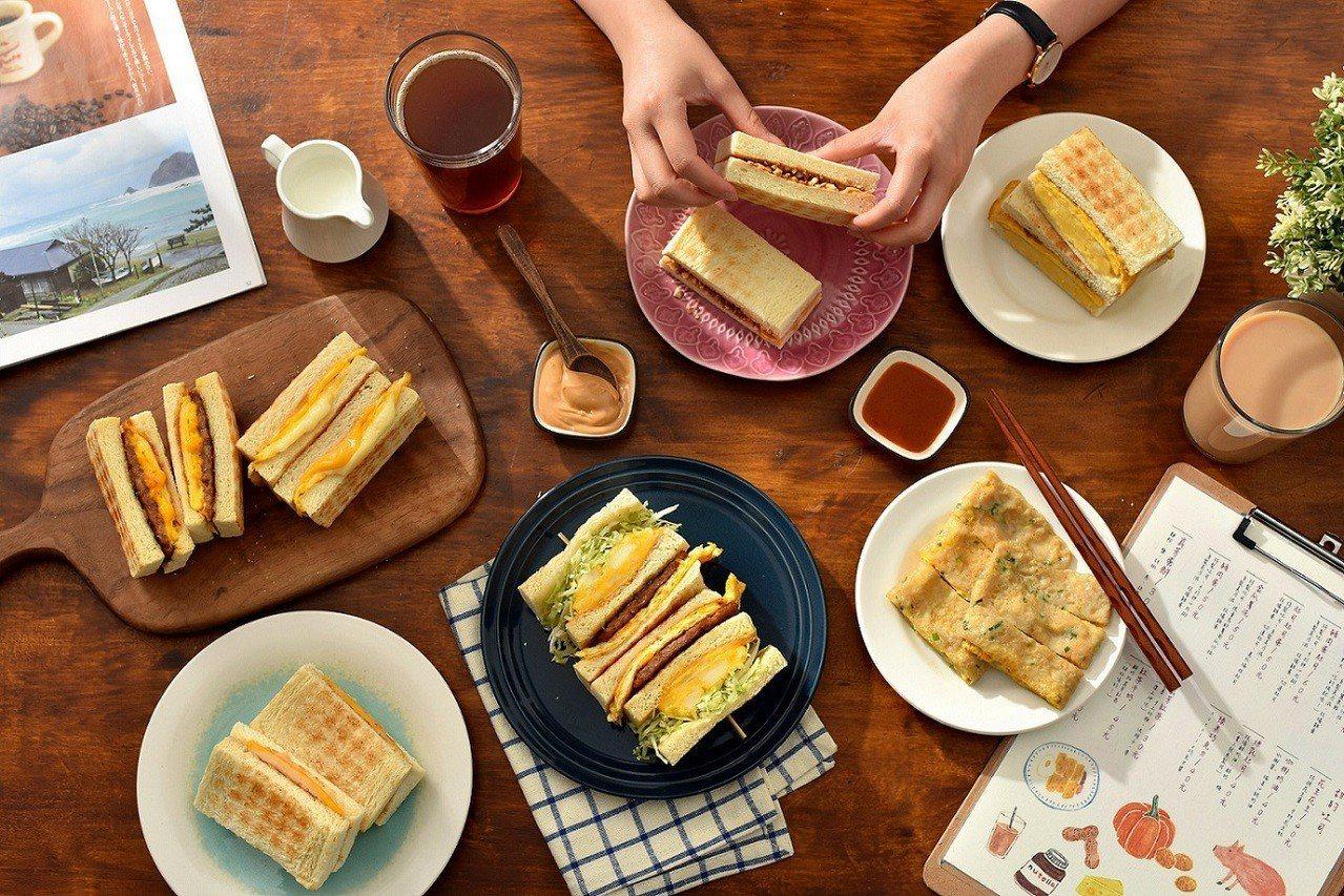 真芳台北南西店早上7點起提供古早味早餐。圖/誠品生活提供