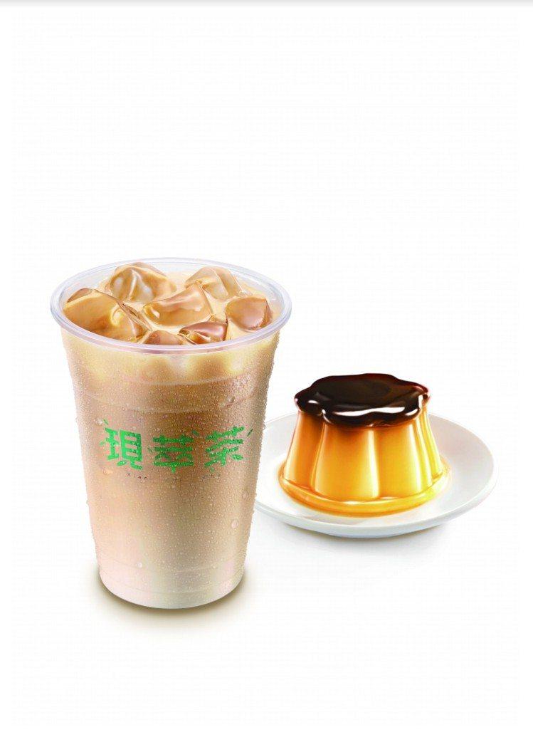 7-ELEVEN「統一布丁純奶茶」加入一整顆布丁,甜度可依喜好調整,目前僅限桃竹...