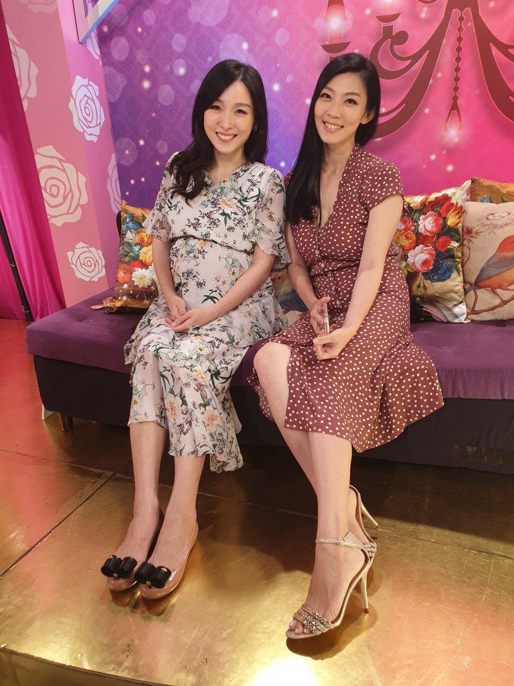 張宇和戴心怡一起上節目。記者李姿瑩/攝影