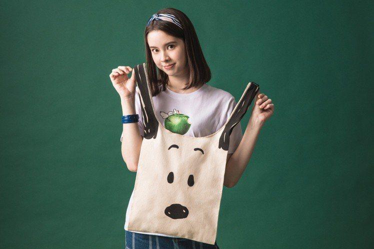 史努比變身購物袋,售價580元。圖/STAYREAL提供