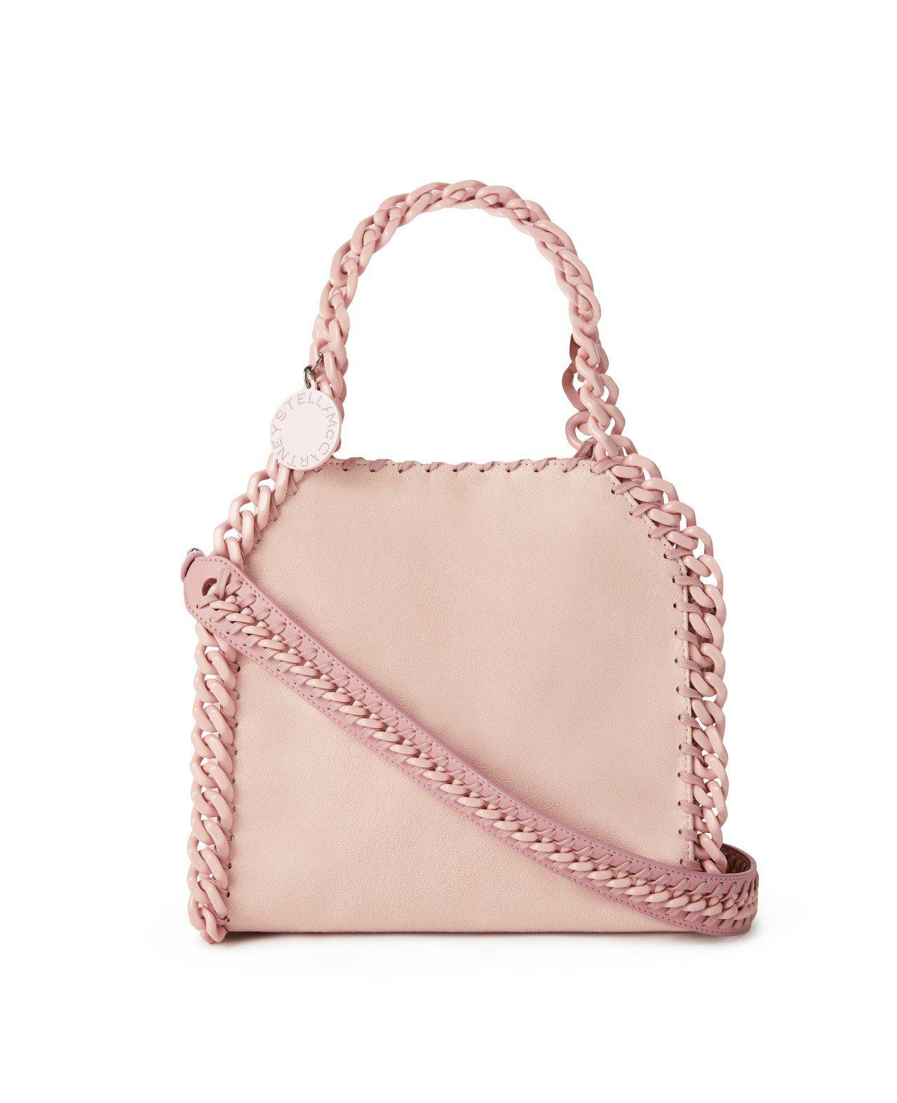 經典FALABELLA CANDY粉紅迷你包,34,900元。圖/Stella ...