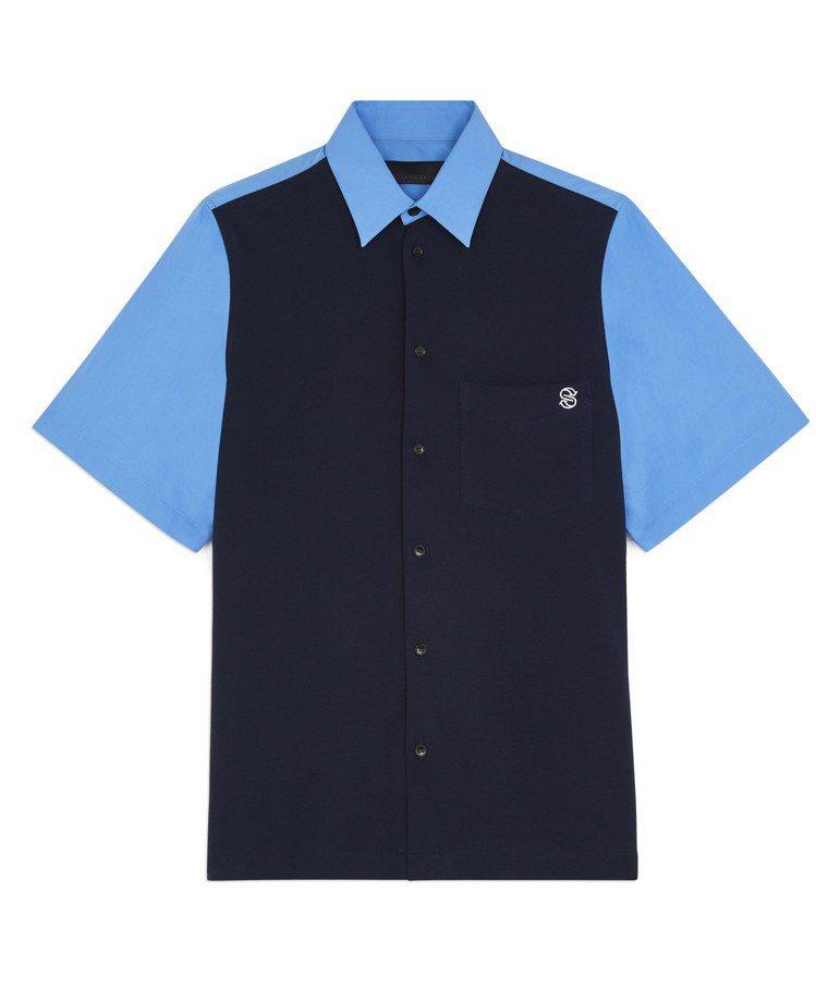 RODNEY短袖格紋襯衫,13,000元。圖/Stella McCartney提...