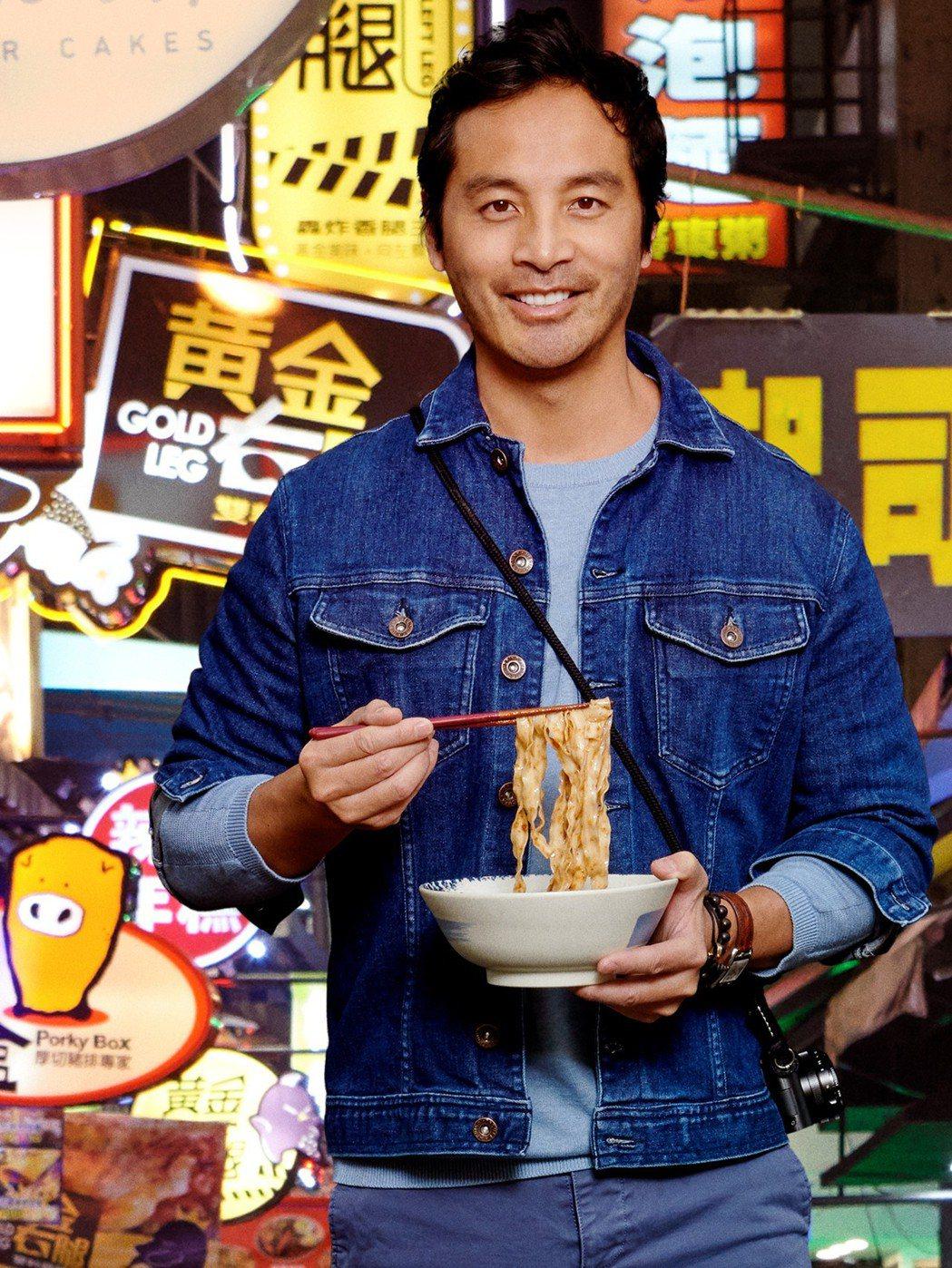 蔡宇的新節目「街是美食」,即將在台首播。圖/Star World提供