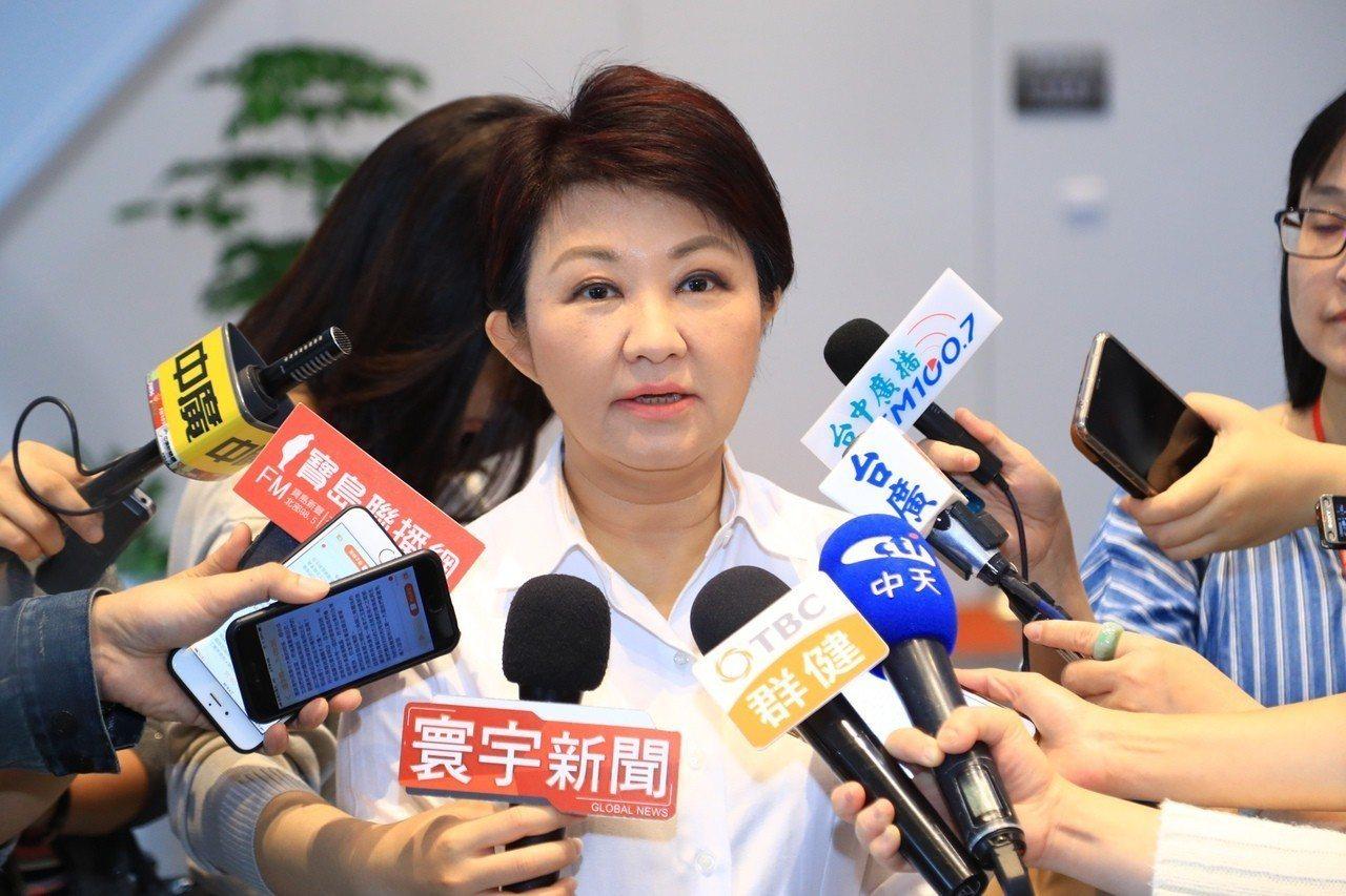 台中市長盧秀燕。聯合報系記者洪敬浤/攝影