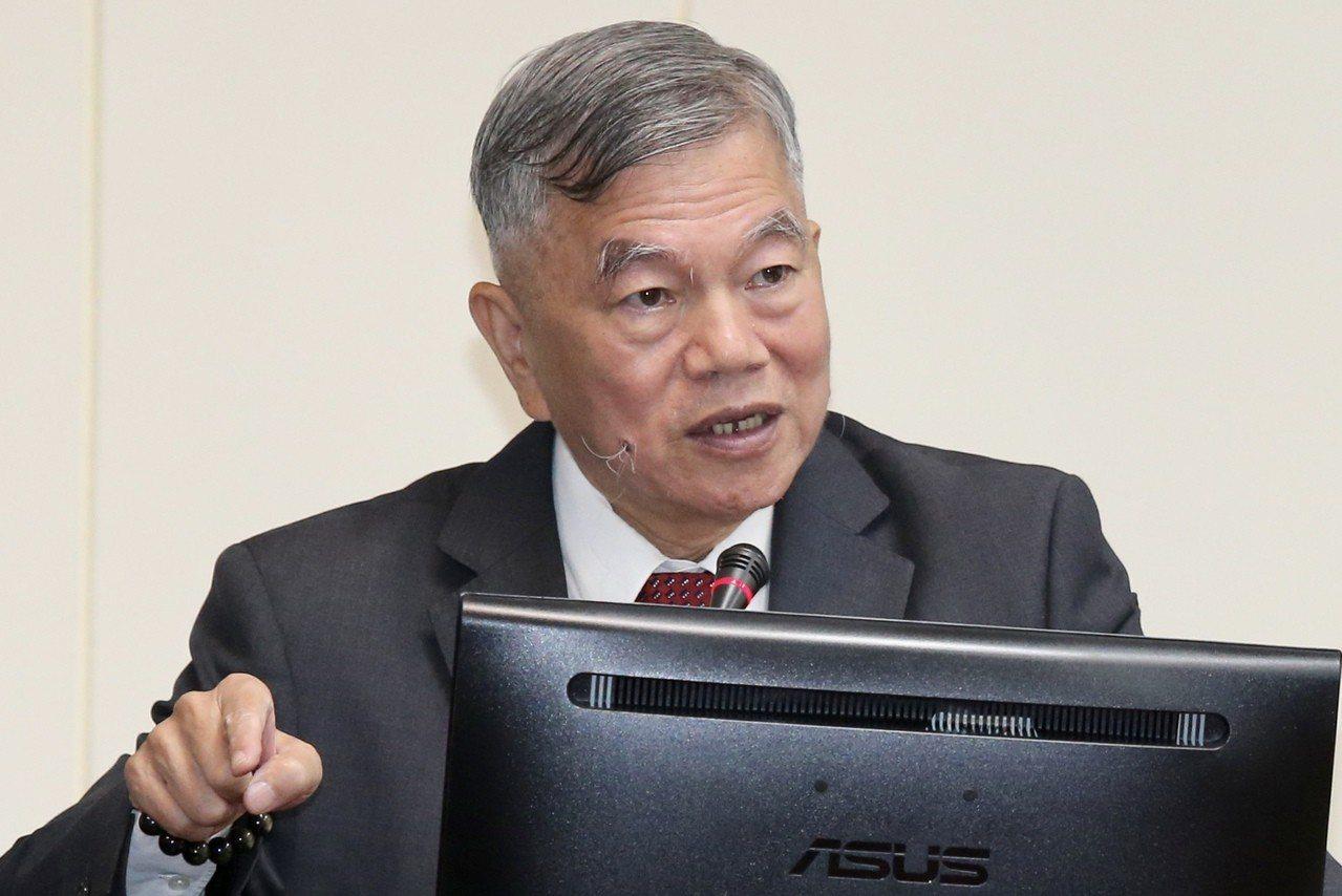 經濟部長沈榮津。 圖/聯合報系資料照片