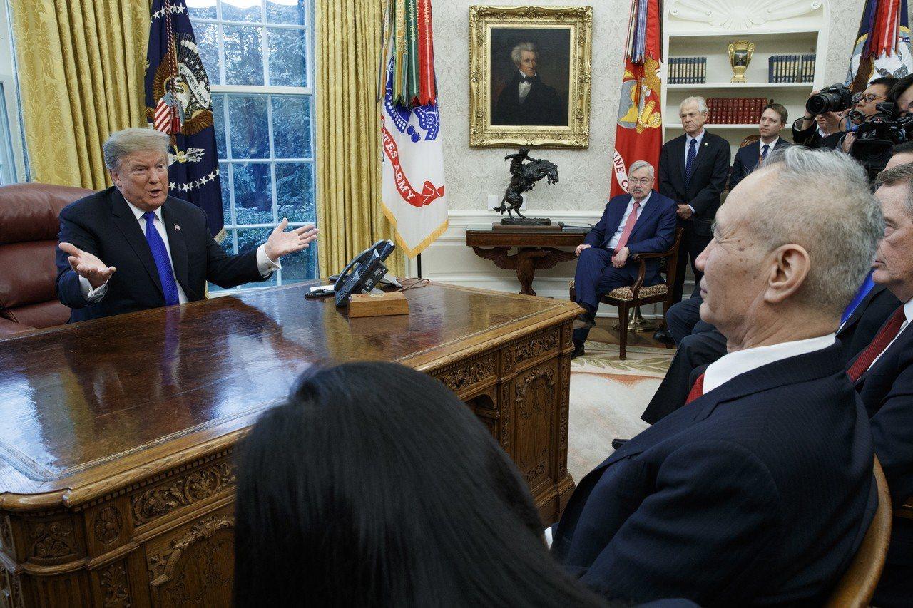 美中談判無法阻止美10日加徵關稅。 歐新社