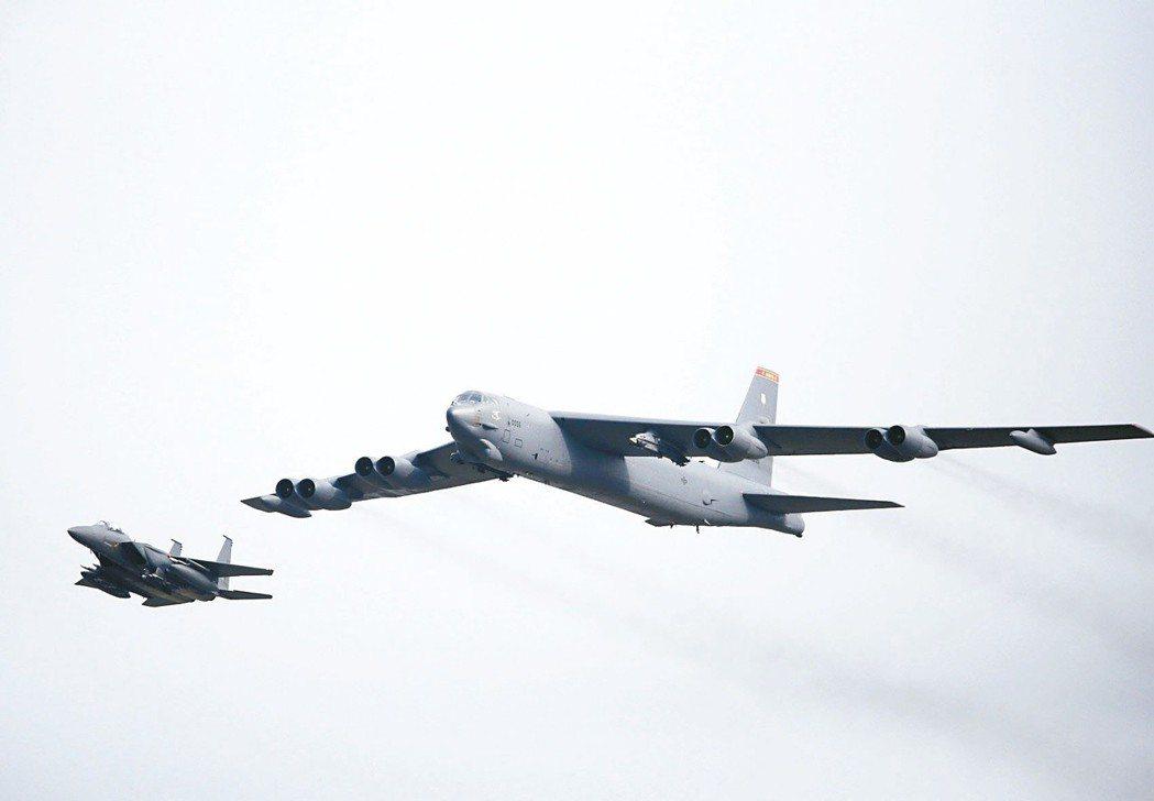 美軍B-52轟炸機已服役超過60年,預計還可再戰至2050年。 路透