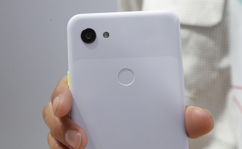 Google Pixel 3a系列智慧型手機。 美聯社