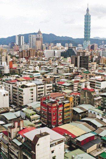 台北市信義區中古屋。 圖/本報資料照片