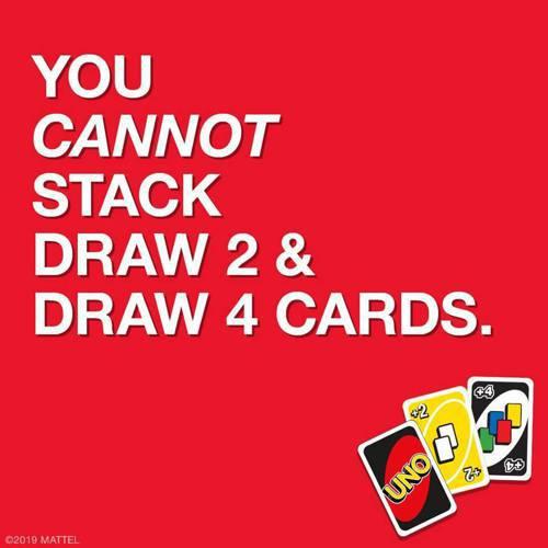 「+4」、「+2」居然無法推疊使用!/圖片截自UNO FB