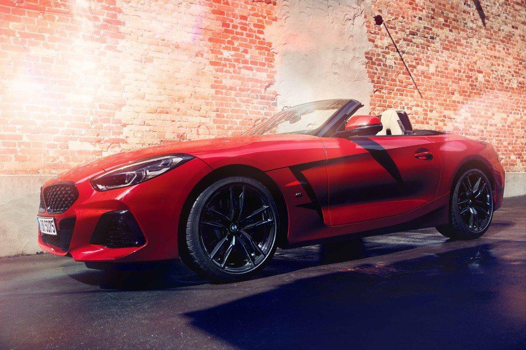 全新BMW Z4敞篷跑車。 圖/汎德提供
