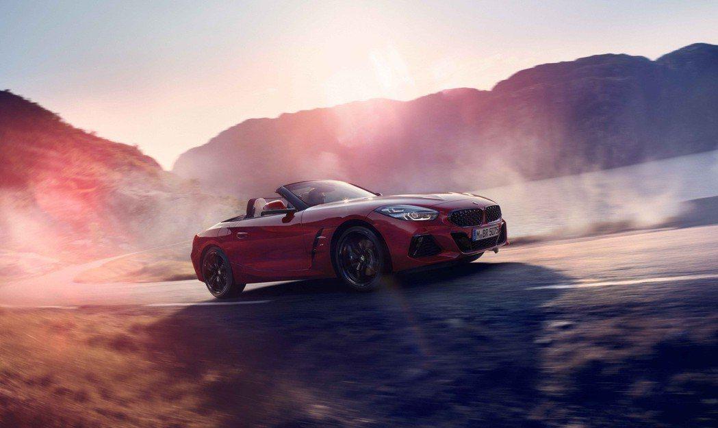 全新BMW Z4展現自由不羈的浪漫靈魂。 圖/汎德提供