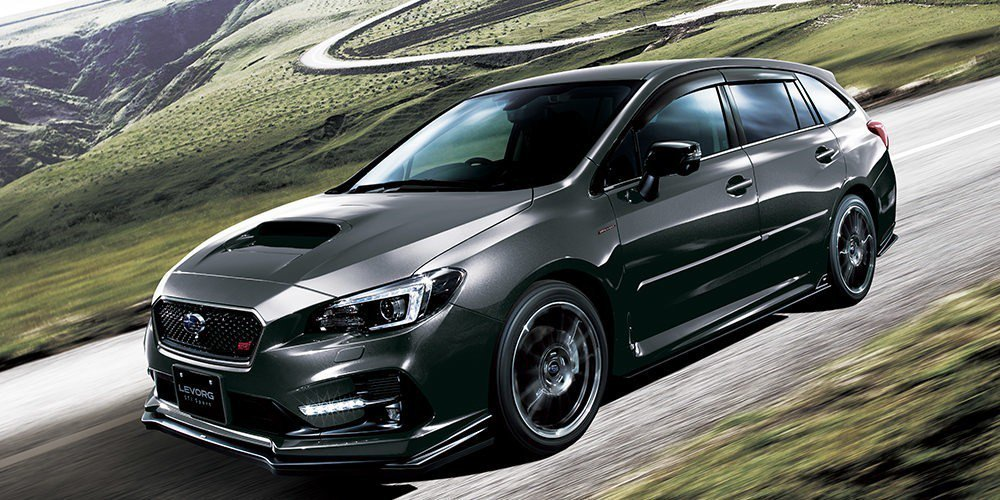 Subaru Levorg STI Sport Black Selection。...