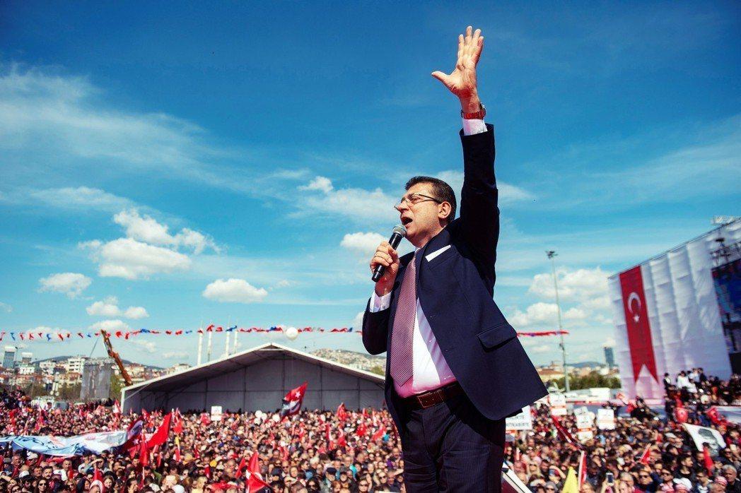 CHP強調:伊瑪莫魯(圖)已經不是CHP所推出的候選人,而是伊斯坦堡市民的候選人...