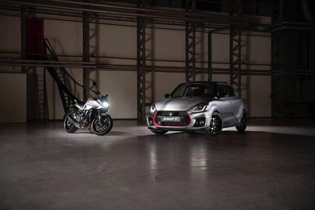 為了慶祝Katana重機回歸,Suzuki發表了30輛Swift Sport K...