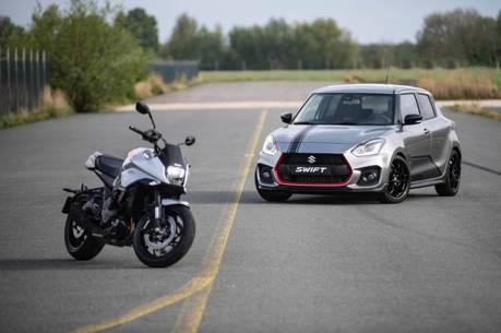 Suzuki向自家重機致敬 推出限量30台Swift Sport Katana!