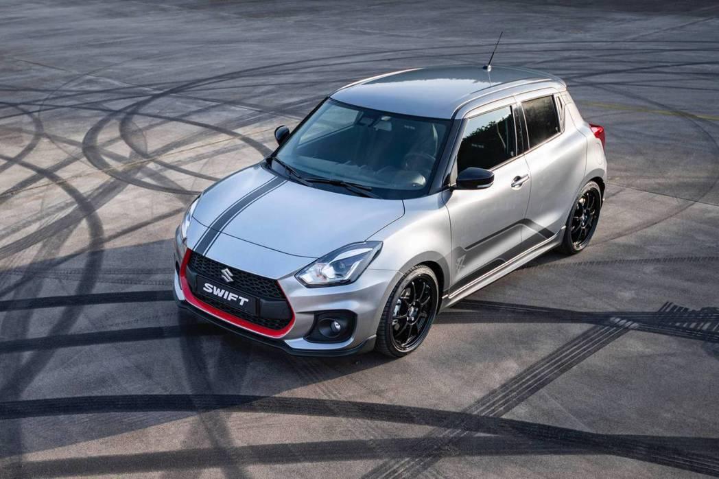 Swift Sport Katana於荷蘭限量販售30輛。 摘自Suzuki