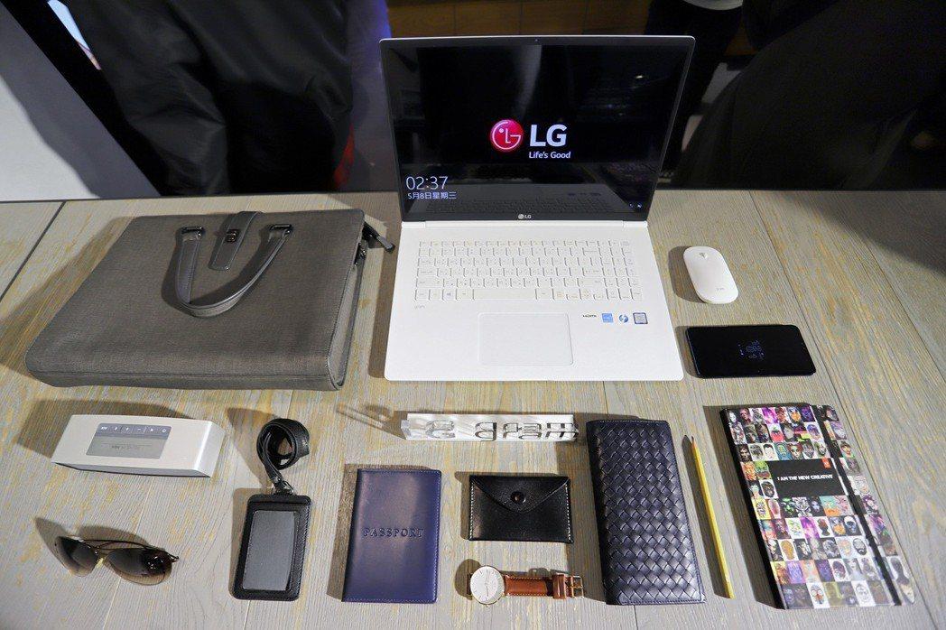 新一代LG gram尺寸多元,涵蓋14、15.6至17吋。  彭子豪/攝影