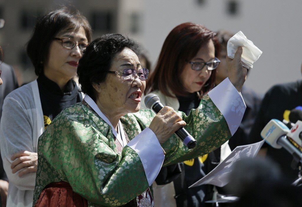 圖為韓籍慰安婦。 圖/美聯社