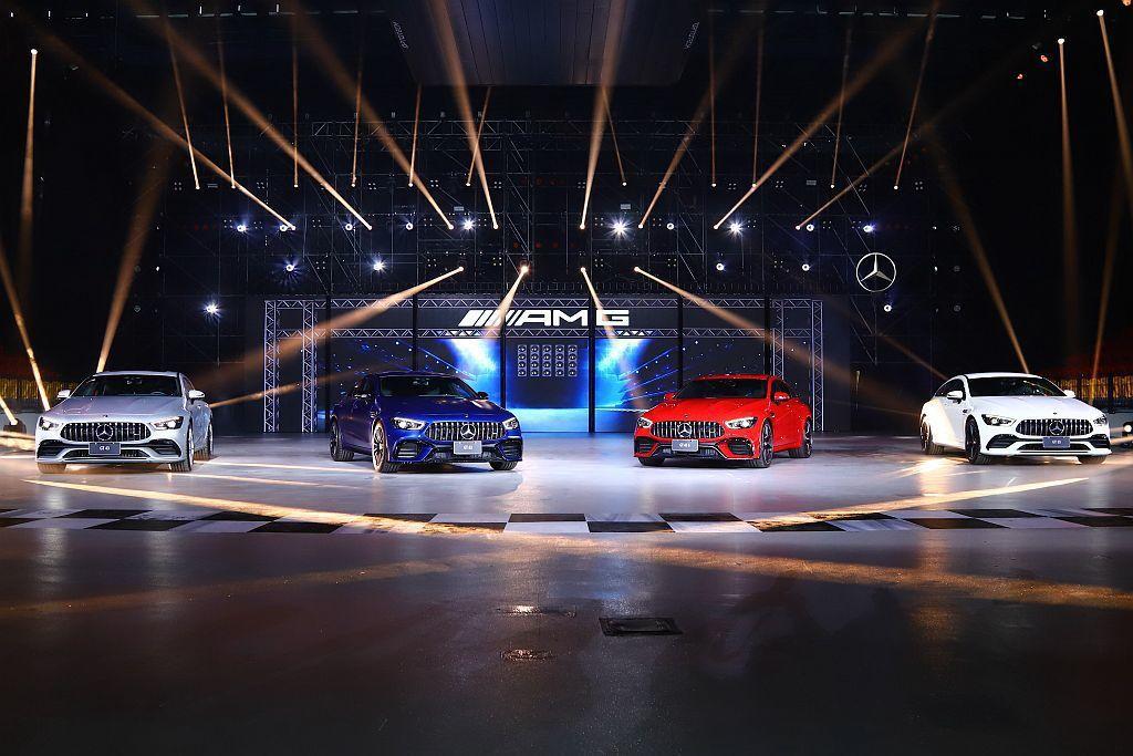 Mercedes-AMG最新力作GT 4-Door Coupe四門高性能轎跑車正...