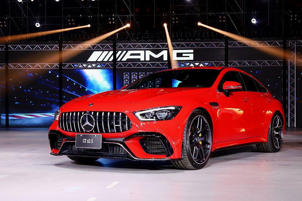 Mercedes-AMG GT 4-Door Coupe V8車型標配前六活塞、...