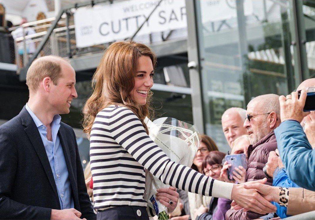威廉王子和凱特近日一起出席公開活動,臉上看來完全不像婚變。圖/摘自Instagr...