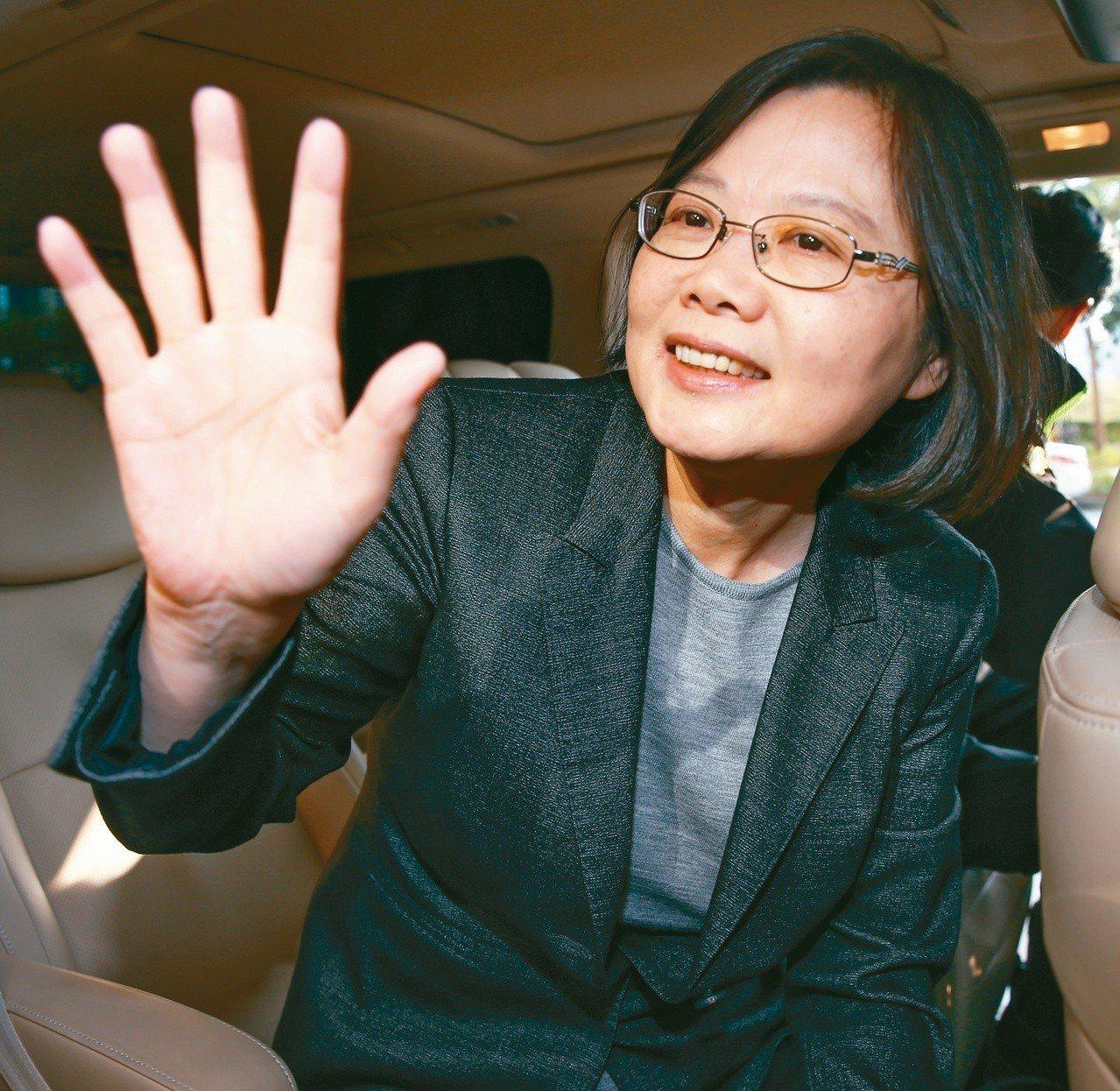 民進黨台北市議員王世堅說,蔡英文總統要放在心裡。本報資料照片