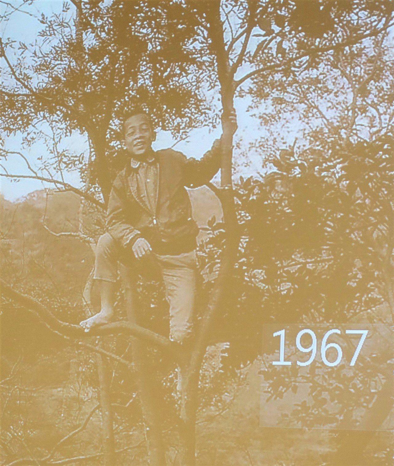 這是賴清德就讀國小時的照片。記者翁禎霞/翻攝