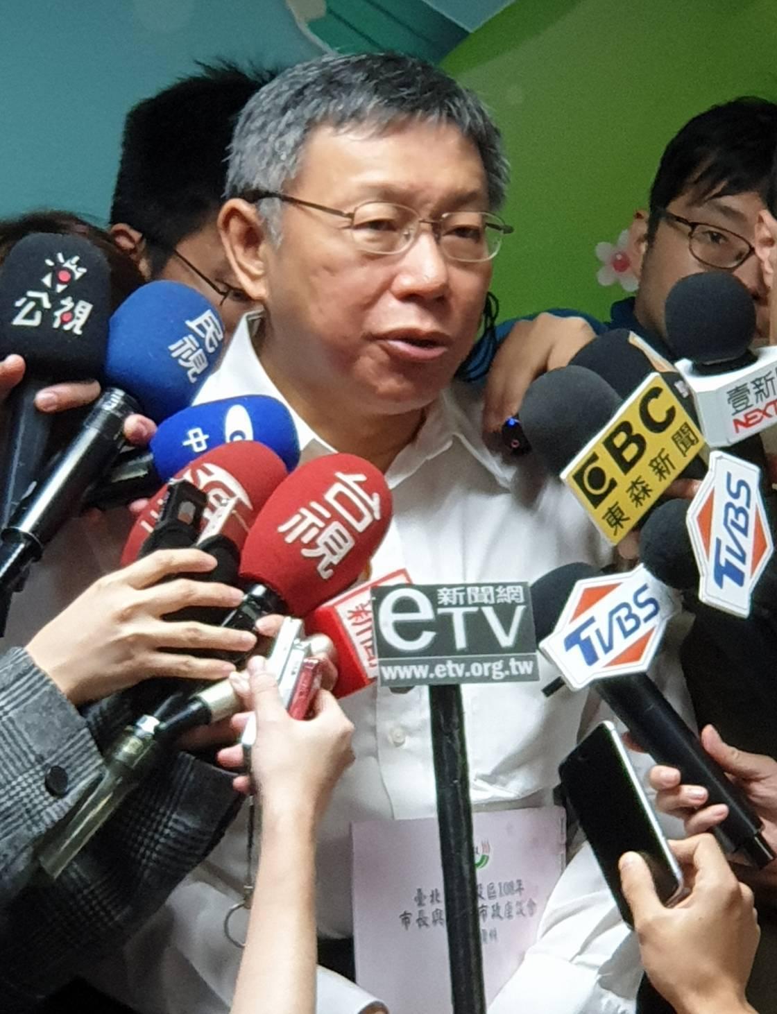 民進黨總統初選是否納入手機民調引發爭論,台北市長柯文哲今天(8日)受訪表示,他做...